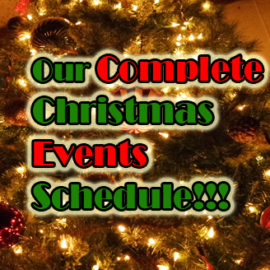 36 Skate Club Christmas Events Schedule!!!
