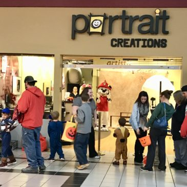 36 Skate Club Partners with Portrait Creations for Miami Valley Centre Mall Trick or Treat!