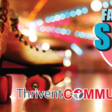 Come out for the free Thrivent Community Family Fun Skate Night and help support a great cause!