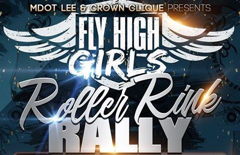 FLY HIGH GIRLS Roller Rink Rally – April 22nd!