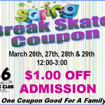 Spring Break Skate Coupon